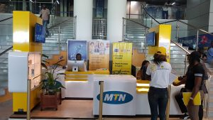 Stand MTN Congo.